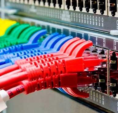Монтаж локальных и телефонных сетей с установкой серверов и мини АТС